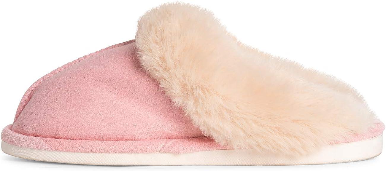Polar Mujer Espuma De Memoria Suela De Goma Felpa Piel Sint/ética Acogedora Comodidad Casa Al Aire Libre Invierno Zapatillas Tama/ño Doble