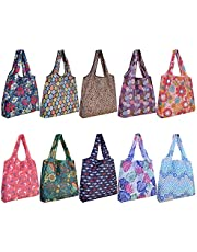 10 Pack Reusable Grocery Shopping Bags