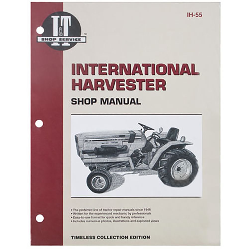 IH55 New Case International Harvester Service Manual 234 234 Hydro 244 254:  Amazon.com: Industrial & Scientific
