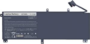 Replacement Laptop Battery for Dell XPS 15 9530 (BB8FLV1) 9535 P31F001 Precision M3800 15d-3728 15d-3828 15d-4528 4721 4723 4728 6828t 8728t 8828t 9728t Series Notebook 701WJ 7D1WJ Y758W 11.1V 61Wh