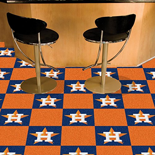 (StarSun Depot Texas Team Carpet Tiles MLB - Houston Astros 18