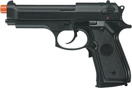 Gunstorm Toy Plastic AUTO-9 M93R FS Air Hand Gun Airsoft Pistol 6mm BB Shot Gun