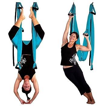 S de BESTAR Yoga Swing Yoga Hamaca Anti de gravedad ...