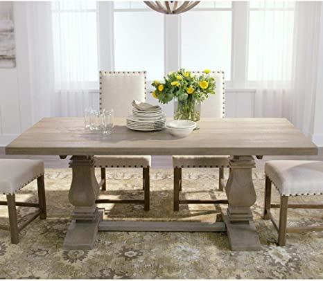 Home Decorators Collection Aldridge Dining Table 30 Hx76 Wx36 D Antique Grey Amazon Ca Home Kitchen