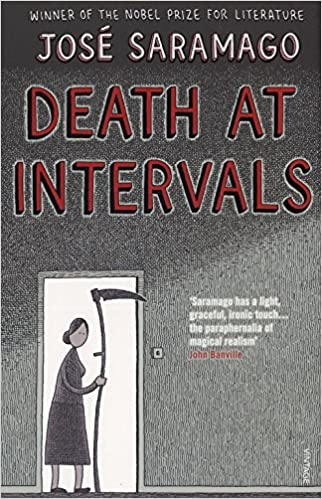 Image result for saramago death at intervals
