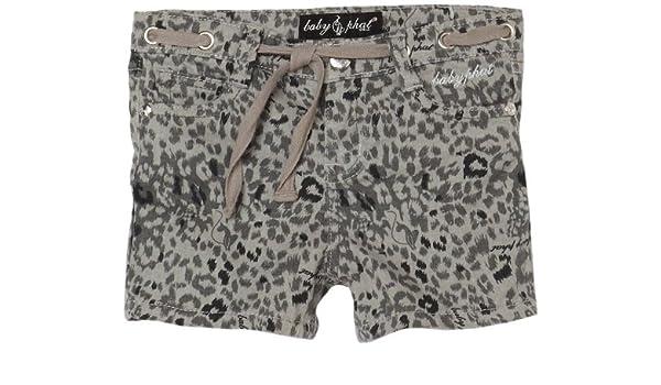 b78f4cb8a197 Amazon.com: Baby Phat - Kids Little Girls' Baby Phat Printed Shorts, Grey,  4: Clothing
