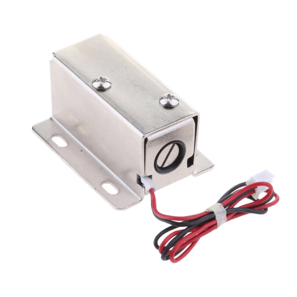 MagiDeal Premium Electrical Magnetic Lock for Doors Cabinets Gates Lockers 24V/0.52A Parts by Unknown (Image #7)