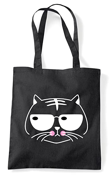 Doodle Cat Twelve Scribble Sketch Sticker Cute Clipart Tote Bag