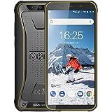 Blackview BV5500 Pro アウトドア スマートフォン 本体 SIMフリー 4Gスマホ本体 Android9.0 5.5インチ 5MP+8MPデュアルカメラ3GB+16GB 4400mAh 防水/防塵/耐衝撃 防災用品 技適認証済み 携帯電話 1年間保証付き イエロー