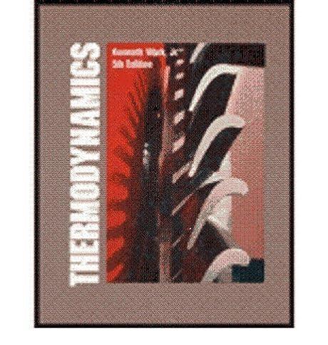 thermodynamics kenneth wark 9780070682863 amazon com books rh amazon com 3 Examples of Thermodynamics Thermal Engineering and Thermodynamics