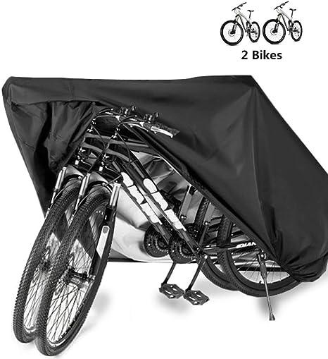 WERNG 2 Fundas para Lluvia para Bicicletas, Funda Impermeable para ...