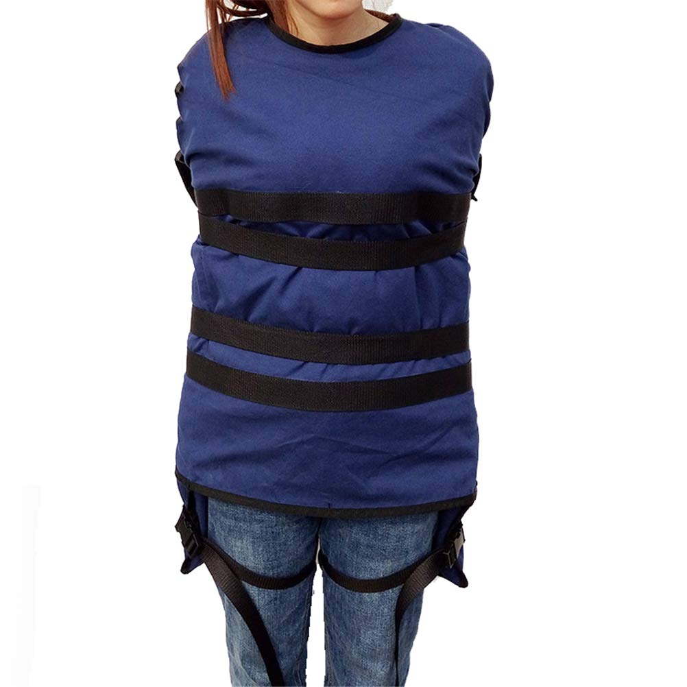 GFYWZ Patient Restrained Fixed Clothes - Psychiatric Patient/Anti-self-mutilation Fixed Constraint Garment for Spiritual Madness Patient Dementia Quit Drugs