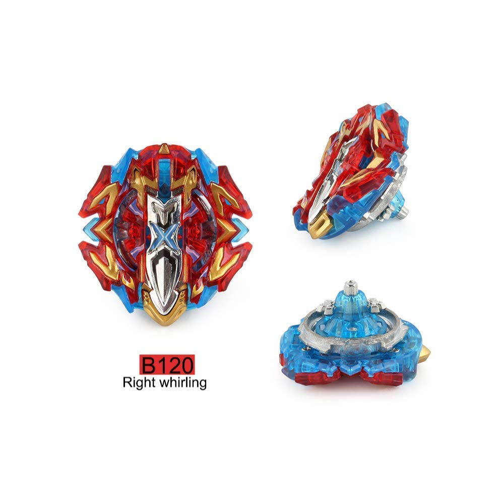 Dey-Tey Burst Battle Evolution Attack Gyro Set with Two 4D Launcher Grip Starter and Stadium(4 in 1) by Dey-Tey (Image #2)