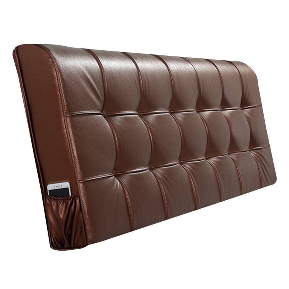 HAIPENG クッション ベッドの背もたれ ベッド バックレスト クッション なし ヘッドボード 枕 ベッドサイド カバー 布張り 腰椎 パッド ヘッドレスト ソファー 柔らかい 快適、 5色、 マルチサイズ (色 : Light brown, サイズ さいず : 160x10x58cm) B07F5J7XVX 160x10x58cm Light brown Light brown 160x10x58cm