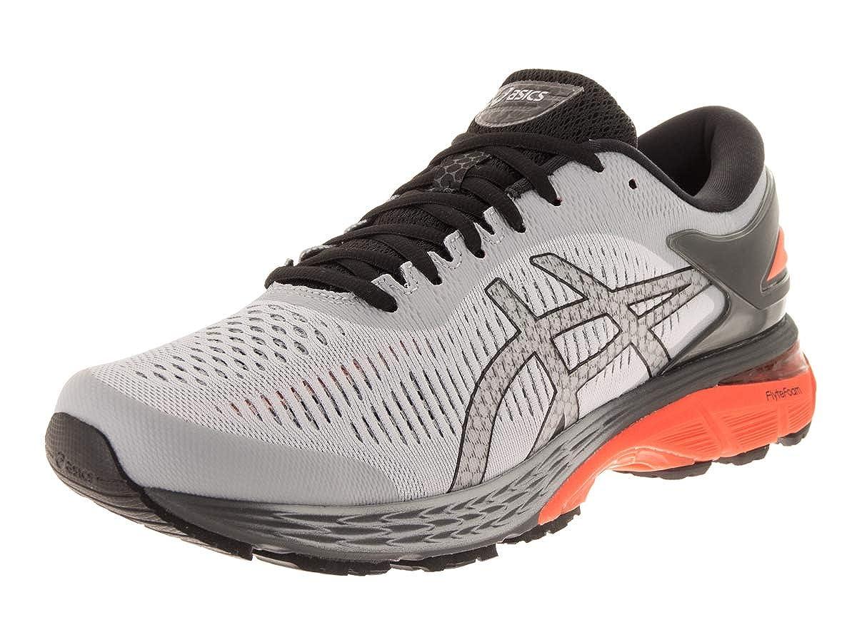 Mid Grey-Nova orange ASICS GelKayano 25 shoes Men's Running