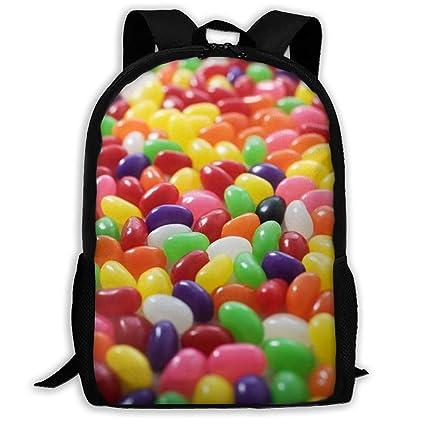 Amazon.com: Posia Lots of Jellybeans Travel Bookbag School ...