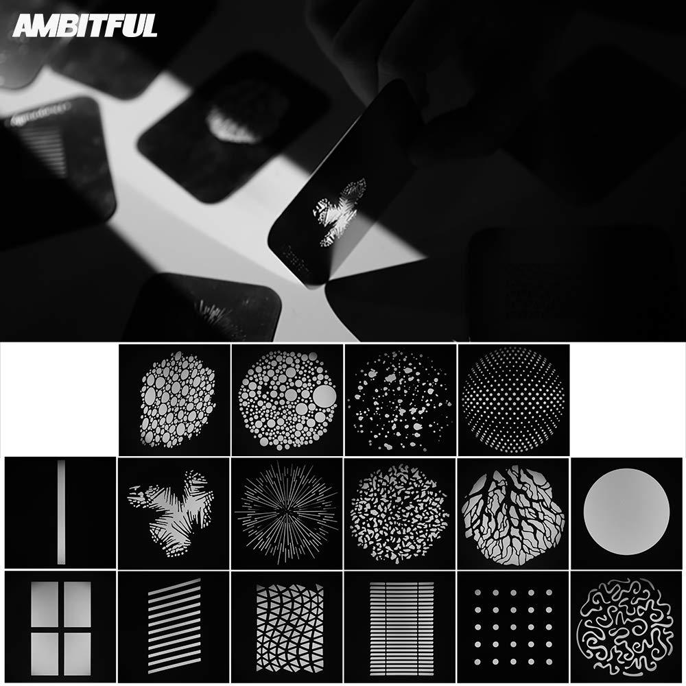 AMBITFUL Bowens Mount Optical Focalize Condenser Beam Light Cylinder Optical Focalize Art Photography Light Cylinder by AMBITFUL (Image #2)
