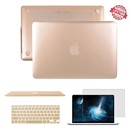 reputable site 328de 4adbe MacBook Air 11.6 inch Case, IC ICLOVER Rubberized Matte Hard Shell Plastic  Case+Matching Keyboard Skin+LCD Screen Protector for MacBook Air 11.6