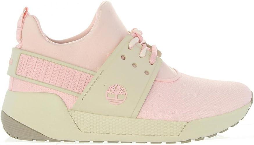 timberland chaussure femmes rose