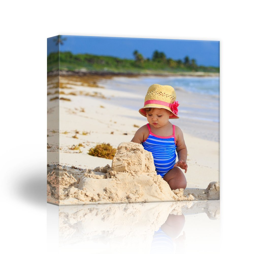 wall26 Personalized Photo to Canvas Print Wall Art - Custom Your Photo On Canvas Wall Art - Digitally Printed (8