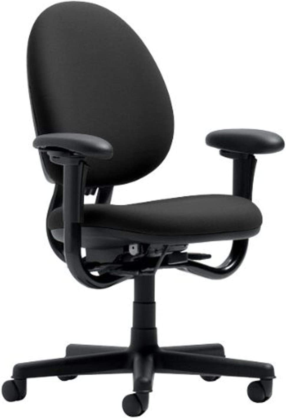 Steelcase Criterion Chair, Black Fabric -