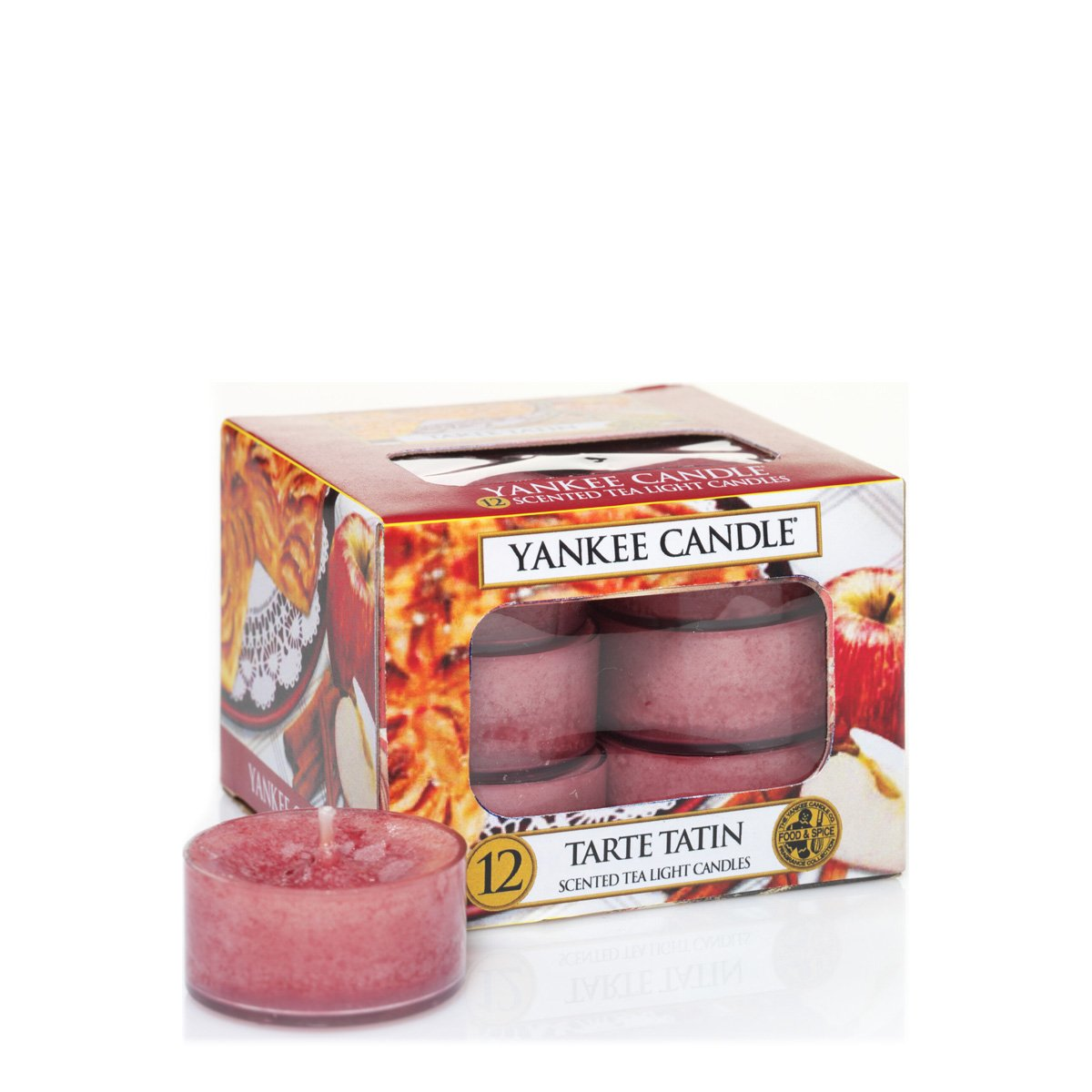 Soy Wax Vanilla Scented 12 Pack Tea Light Candles