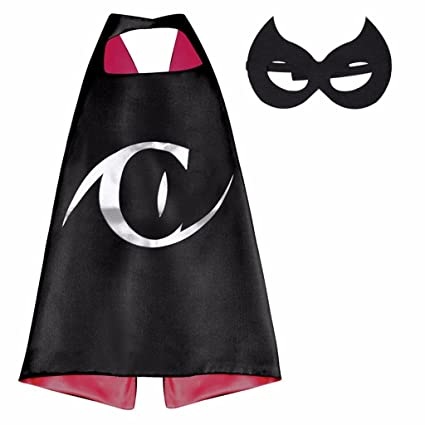 DC Comics Costume - Catwoman Logo Cape and Mask with Gift Box by Superheroes  sc 1 st  Amazon.com & Amazon.com: DC Comics Costume - Catwoman Logo Cape and Mask with ...