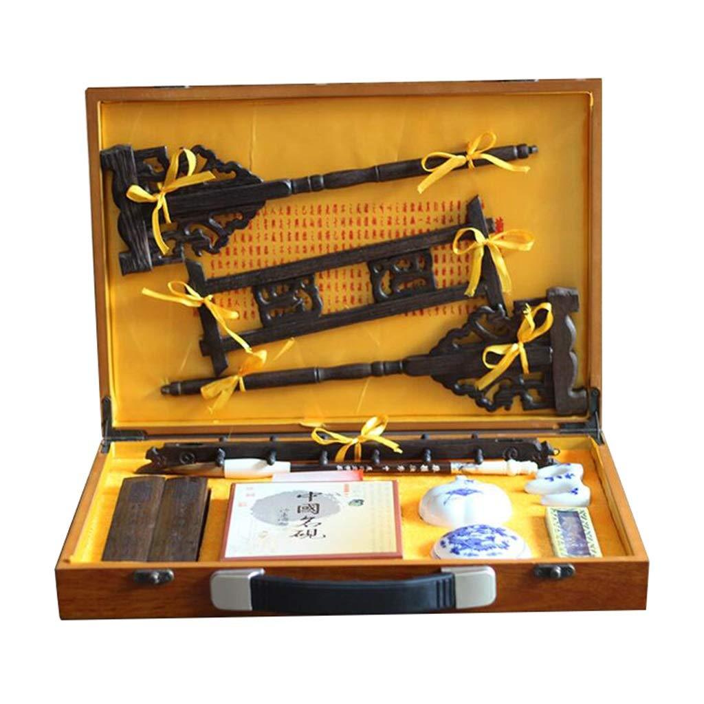 書道ペイントブラシ、優れた筆記用筆インクスティック紙インクキット、中国のインクスティックブラシペン B07P33C6BY