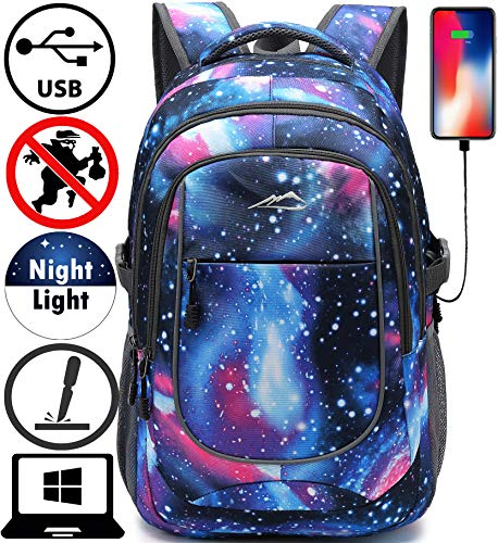 Backpack for School College Student Sturdy Bookbag Travel Business with