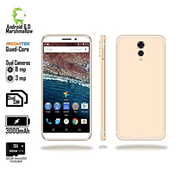 Indigi GSM Unlocked 4G LTE 5 6in Smartphone (Android 6 0