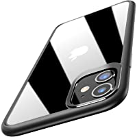 TOZO for iPhone 11 Case 6.1 Inch (2019) Hybrid Soft Grip Matte Finish Clear Back Panel Ultra-Thin [Slim Thin Fit] Cover for iPhone 11 with [Black]