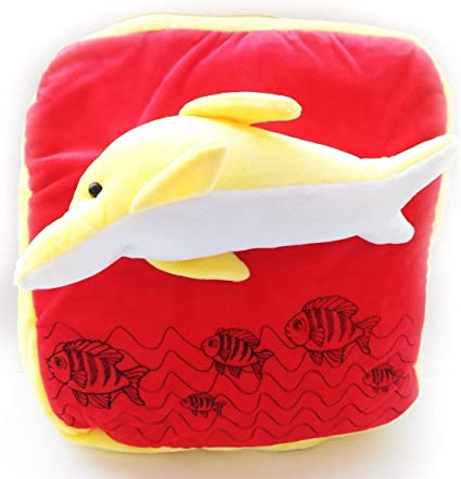 Pearl World High Quality Cute Red & Yellow Fish Soft Toy Bag 40cm