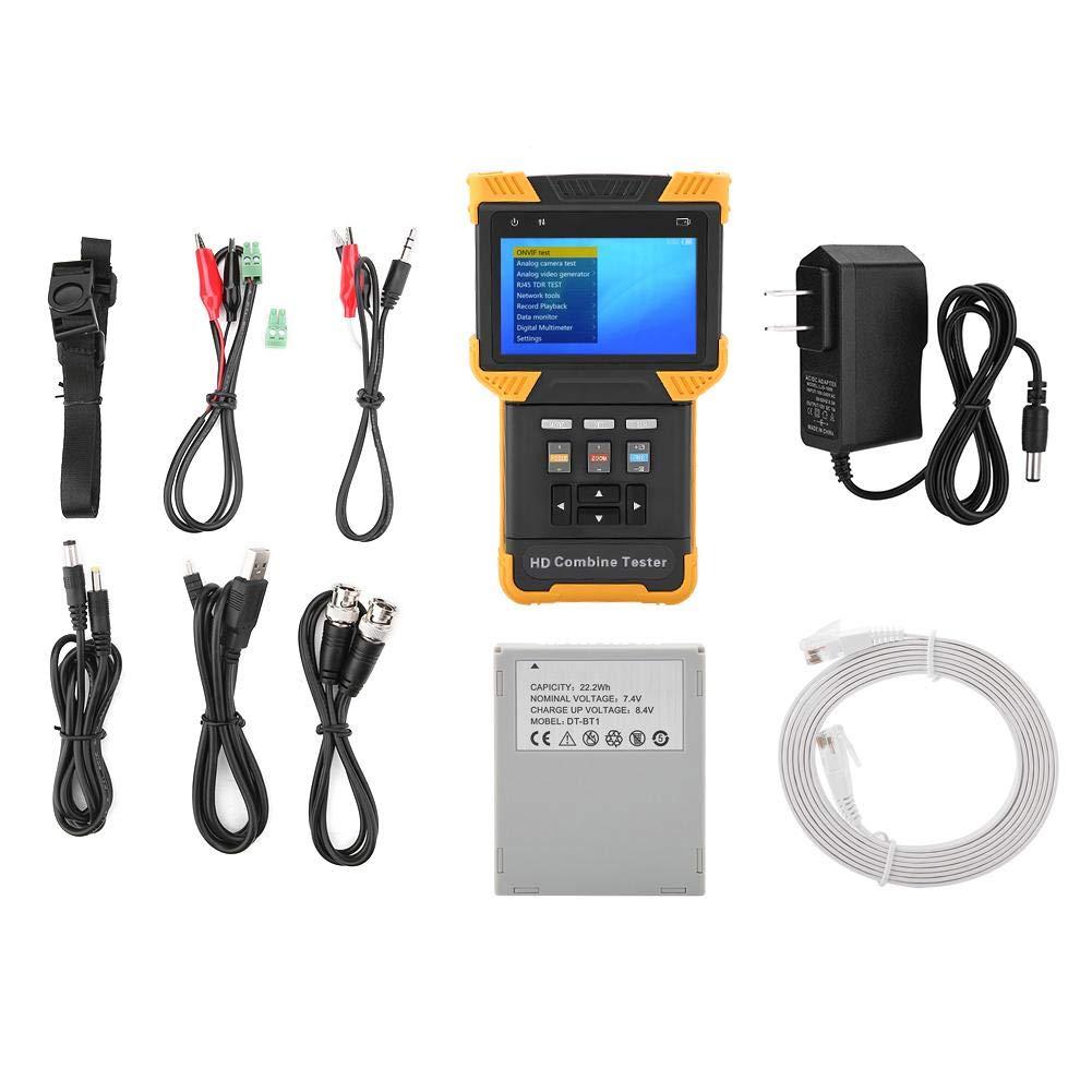 かわいい! Akozon CCTVテスターDT-T60多機能テスター1080P IPアナログカメラテストHDコンバインテスターAC100-240V 4.0