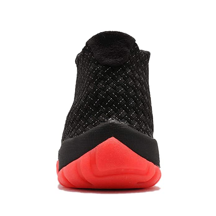reputable site dfcc2 2161f NIKE - Air Jordan Future Premium - 652141023 - Color  Black-Red - Size   11.5  Amazon.co.uk  Shoes   Bags