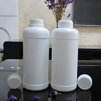 Botella vacía de 1000 ml de plástico para detergente de lavandería ...