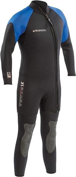 XS Scuba-Neoprene -PyroStretch Wetsuits-Suit-7mm Mens Pyro Combo-Scuba & Snorkel Diving