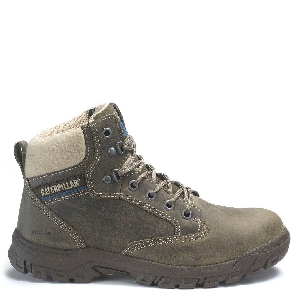 Caterpillar Tess Steel Toe Work Boot B07DW2X47P 9.5 W US|Dark Gull Grey