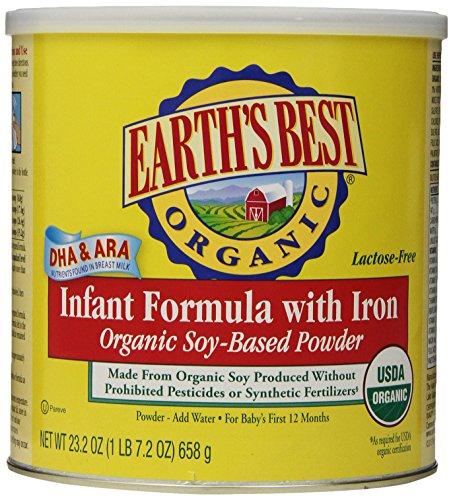 Earths Best Organic Infant Formula