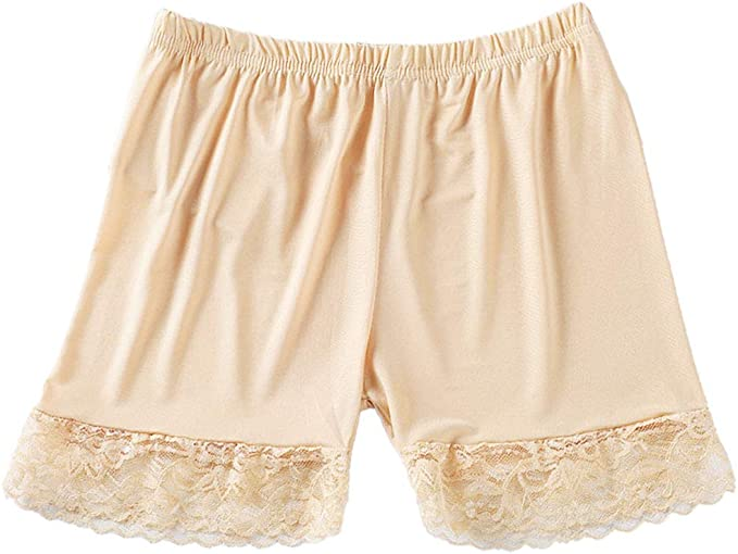 Pantalones Mujeres Suave Atractiva del cordón del algodón sin ...