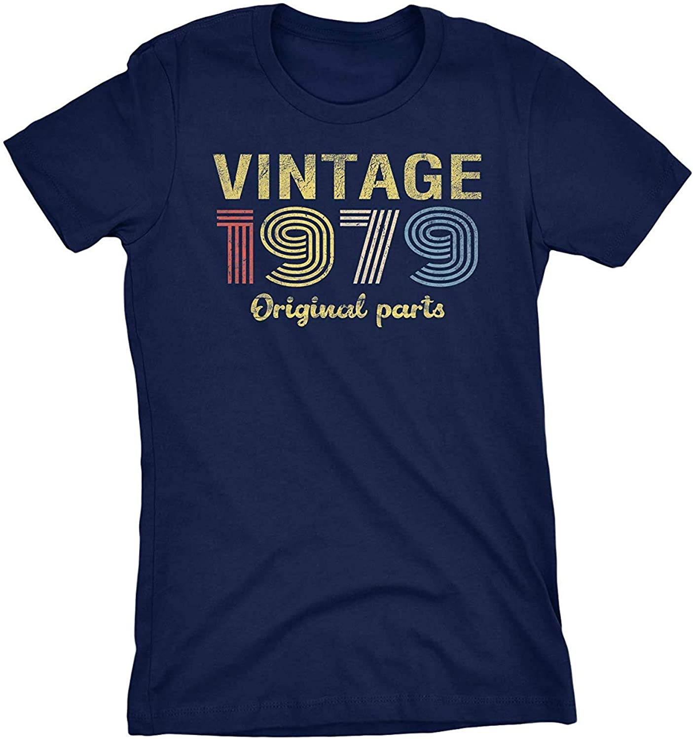 Made in 1979 40th Birthday  Vintage Gift ladies Women T-Shirt