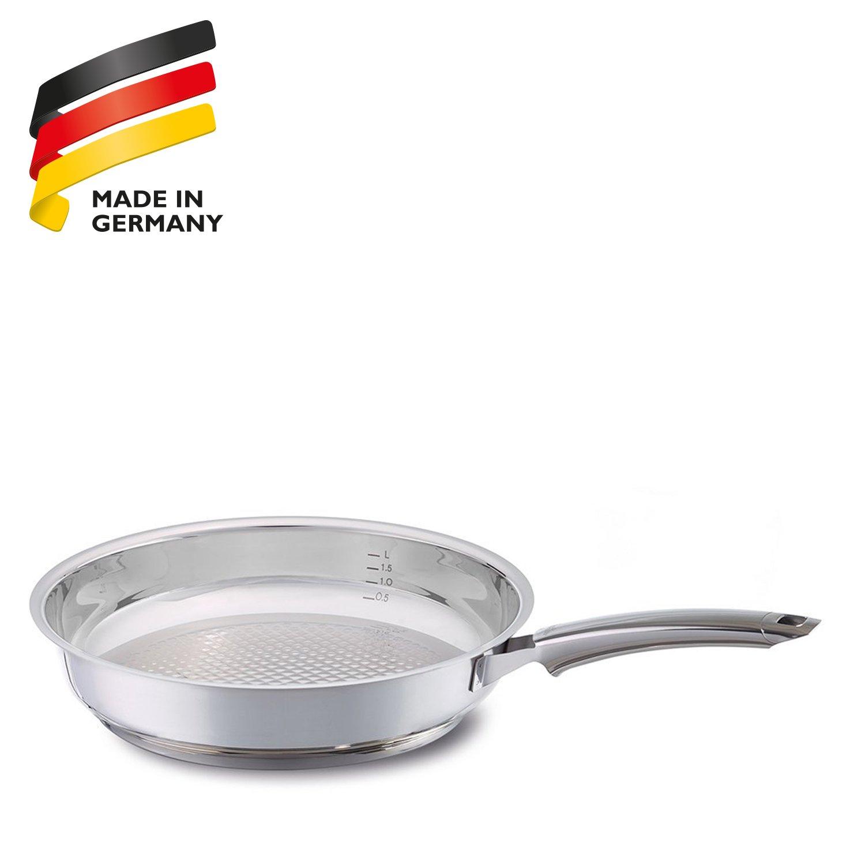 Fissler 12140020100 Crispy steelux Premium - Sartén (20 cm): Amazon.es: Hogar