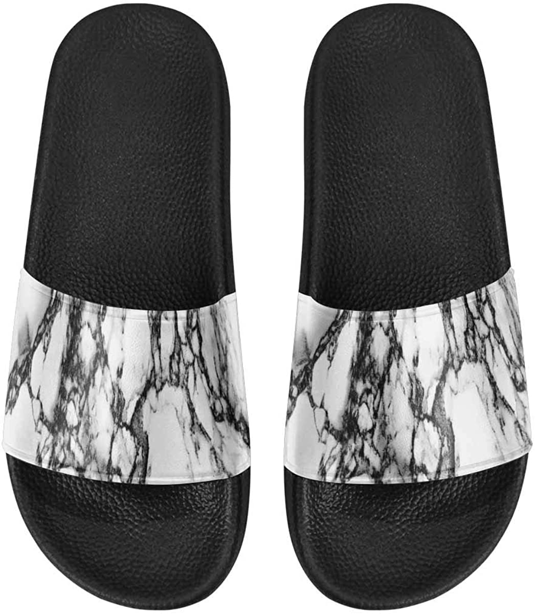 INTERESTPRINT Women's Indoor Lightweight Shower Pool Slippers US6-US12