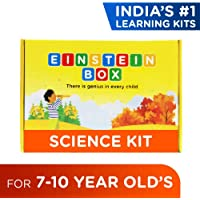 Einstein Box Science Kit for 7-10 Year Old Kids, Learning & Educational Gift of STEM Toys for Boys & Girls |Experiments, Projects & Science for Kids 7, 8, 9 & 10 Years| DIY Chemistry Kit, Soap Making