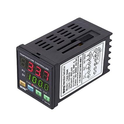 BAOSHISHAN TA4-SSR - Termómetro digital LED PID universal programable con control de refrigeración por