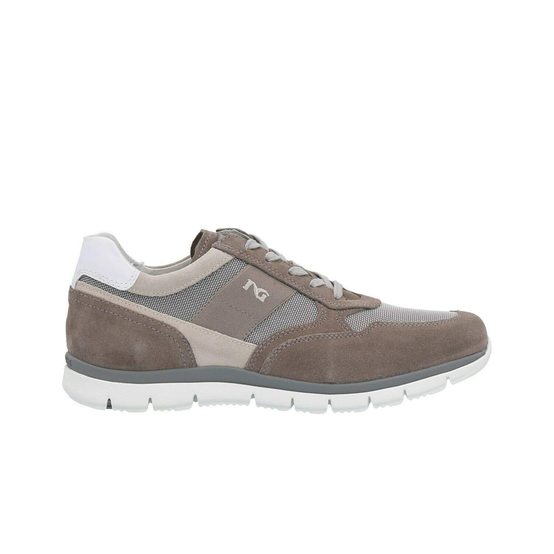 Nero Giardini Uomo Uomo Uomo scarpe da ginnastica P900840U 0840 camoscio n. 43 Grigio a9666e