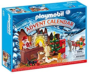 Playmobil advent calendar christmas post for Playmobil post