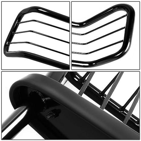 Amazon Com Dna Motoring Grill G 072 Bk Black Front Bumper Protector