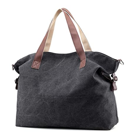 435aac4040bd ... free shipping e8be0 bf642 LLguz Women Fresh Fashion Canvas Crossbody  Bags Vintage Canvas Tote Handbags Big ...