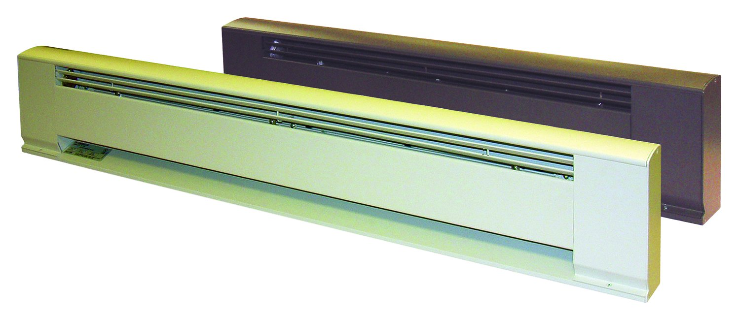 TPI H390636C Series 3900 Hydronic Electric Baseboard Heater, 208/240 Volt, 450/600 W, Brown