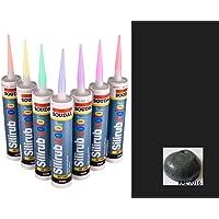 Barniz de silicona antracita gris Premium Silicone Mastic